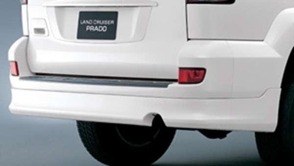 『ランドクルーザープラド』 純正 KDJ125 リヤバンパースポイラー 3ドア パーツ トヨタ純正部品 リアスポイラー リヤスポイラー エアロパーツ landcruiser オプション アクセサリー 用品