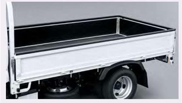 『デュトロ』 純正 TQUMC TQMMB TQFRD ゲートプロテクター 1 784mm×4個、1 613mm×1個 幅40mm パーツ ヒノ純正部品 荷台モール アオリ オプション アクセサリー 用品