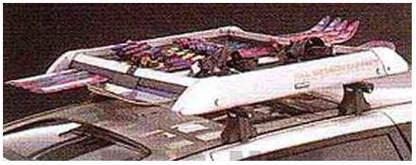 『bBオープンデッキ』 純正 NCP34 オールシーズンキャリア パーツ トヨタ純正部品 オプション アクセサリー 用品