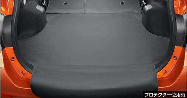 『カローラフィールダー』 純正 NKE165G ZRE162G NRE161G NZE161G NZE164G ロングラゲージマット(リヤバンパープロテクト機能付) パーツ トヨタ純正部品 ラゲッジマット トランクマット 滑り止め オプション アクセサリー 用品