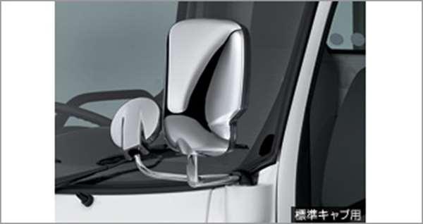 『ダイナ、トヨエース(標準キャブ、ダンプ)』 純正 XZC610 XZU610 XZU620 (タイプ1) メッキドアミラーカバー パーツ トヨタ純正部品 サイドミラーカバー カスタム dyna オプション アクセサリー 用品