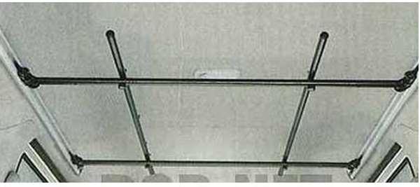 『アトレー』 純正 S321G S331G ハンガーバー(マルチレール用) パーツ ダイハツ純正部品 バー atrai オプション アクセサリー 用品