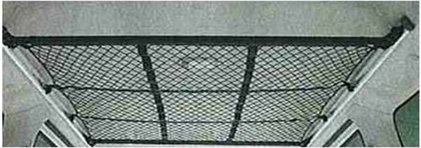 『アトレー』 純正 S321G S331G オーバーヘッドネット(マルチレール用) パーツ ダイハツ純正部品 バー収納 atrai オプション アクセサリー 用品