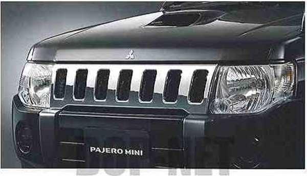 pai002 『パジェロミニ』 純正 H58A H53A メッキグリル パーツ 三菱純正部品 PAJERO オプション アクセサリー 用品