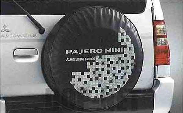 零件三菱帕杰罗迷你轮胎 (图案拼贴) 真正零件