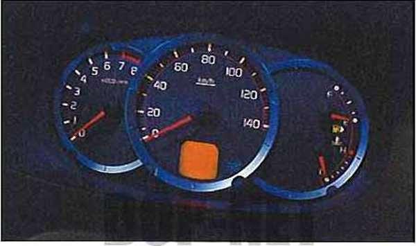 『パジェロミニ』 純正 H58A H53A メーターイルミネーション パーツ 三菱純正部品 PAJERO オプション アクセサリー 用品