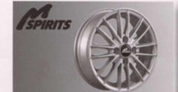 『ミラージュ』 純正 A05A アルミホイール(M-SPIRITS) ※1本に付き パーツ 三菱純正部品 安心の純正品 MIRAGE オプション アクセサリー 用品