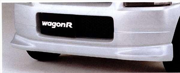 正牌的MC21 MC11前台下面扰流器零件铃木纯正零部件furontosupoirakasutamuearo wagonr选项配饰用品