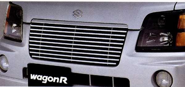 『ワゴンR』 純正 MC21 MC11 フロントグリル パーツ スズキ純正部品 飾り カスタム エアロ wagonr オプション アクセサリー 用品