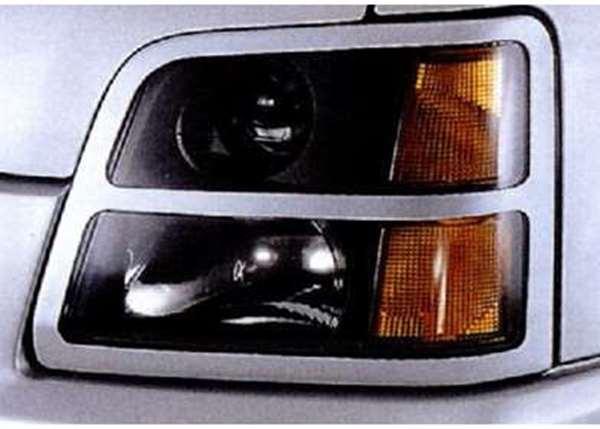 『ワゴンR』 純正 MC21 MC11 ヘッドランプガーニッシュ 左右セット パーツ スズキ純正部品 ヘッドライトパネル 飾り カスタム wagonr オプション アクセサリー 用品