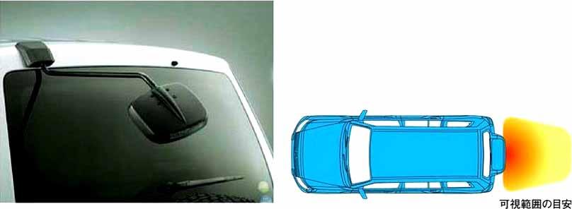 『パジェロ』 純正 V83W リヤアンダーミラー パーツ 三菱純正部品 PAJERO オプション アクセサリー 用品