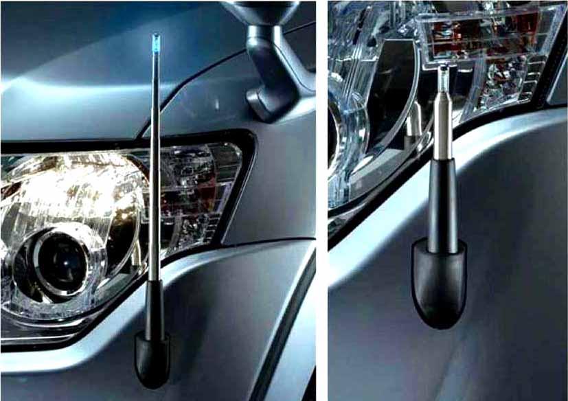『パジェロ』 純正 V83W コーナーポール パーツ 三菱純正部品 PAJERO オプション アクセサリー 用品