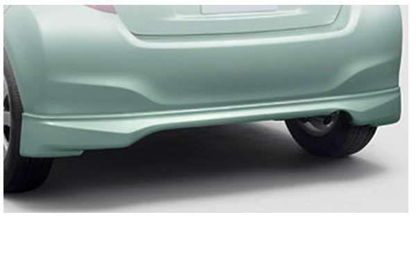 『ヴィッツ』 純正 NCP131 KSP130 NSP130 リヤバンパースポイラー (1.3U・F用) ※廃止カラーは弊社で塗装 パーツ トヨタ純正部品 リアスポイラー リヤスポイラー エアロパーツ vitz オプション アクセサリー 用品