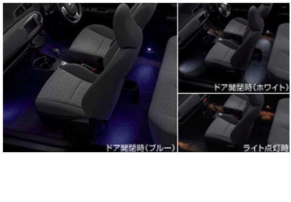 純正 NCP131 用品 照明 アクセサリー ライト パーツ NSP130 2モードタイプ オプション 『ヴィッツ』 インテリアイルミネーション KSP130 トヨタ純正部品 明かり vitz