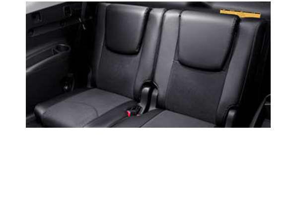 供3列纯正的ACA33 ACA38 GSA33皮革风格座套合身席使用的零件丰田纯正零部件座位覆盖物污垢席保护vanguard选项配饰用品