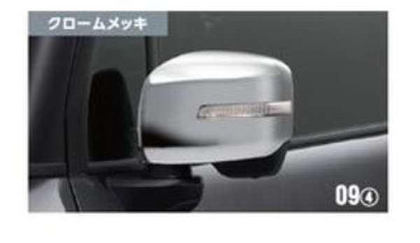 『クロスビー』 純正 MN71S ドアミラーカバー 樹脂クロームメッキ パーツ スズキ純正部品 サイドミラーカバー カスタム オプション アクセサリー 用品