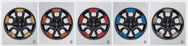 『クロスビー』 純正 MN71S ホイールアクセント 20枚(1台分) パーツ スズキ純正部品 オプション アクセサリー 用品