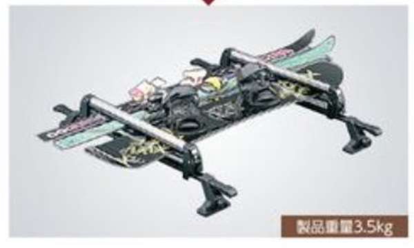 『クロスビー』 純正 MN71S スキー&スノーボードアタッチメント パーツ スズキ純正部品 キャリア別売りキャリア別売り オプション アクセサリー 用品