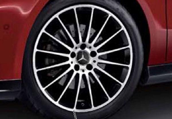『A-Class B-Class CLA GLA 』 純正 5BA DBA CBA A-Class AMG18インチ マルチスポーク アルミホイール パーツ ベンツ純正部品 安心の純正品 オプション アクセサリー 用品