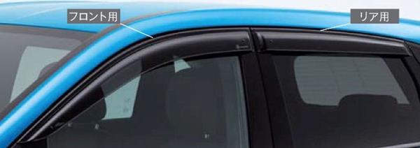 『A-Class B-Class CLA GLA 』 純正 5BA DBA CBA B-Class サイドバイザー フロント左右セット パーツ ベンツ純正部品 ドアバイザー 雨よけ 雨除け オプション アクセサリー 用品