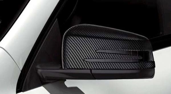 『A-Class B-Class CLA GLA 』 純正 5BA DBA CBA カーボン調ドアミラーカバー パーツ ベンツ純正部品 サイドミラーカバー カスタム オプション アクセサリー 用品