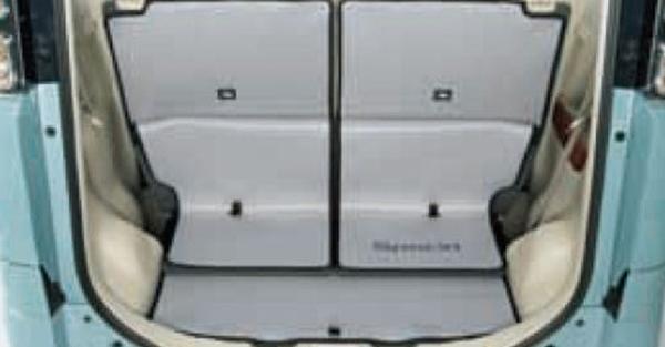 『スペーシア』 純正 MK53S ラゲッジマット(ソフトタイプ) パーツ スズキ純正部品 ラゲージマット 荷室マット 滑り止め オプション アクセサリー 用品