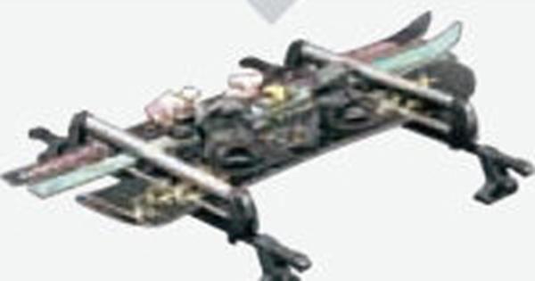 『スペーシア』 純正 MK53S スキー&スノーボードアタッチメント ルーフレール無車用 パーツ スズキ純正部品 キャリア別売りキャリア別売り オプション アクセサリー 用品