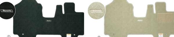 『スペーシア』 純正 MK53S フロアマット(ジュータン)ノーブル パーツ スズキ純正部品 フロアカーペット カーマット カーペットマット オプション アクセサリー 用品