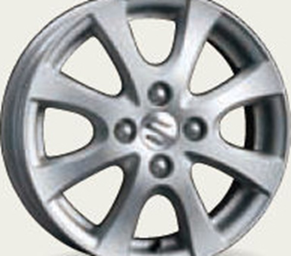 『スペーシア』 純正 MK53S アルミホイール (14インチ) 1枚より販売 パーツ スズキ純正部品 安心の純正品 オプション アクセサリー 用品