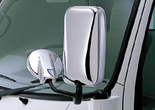 『ダイナ標準キャブ』 純正 XZU554 メッキドアミラーカバー パーツ トヨタ純正部品 サイドミラーカバー カスタム dyna オプション アクセサリー 用品