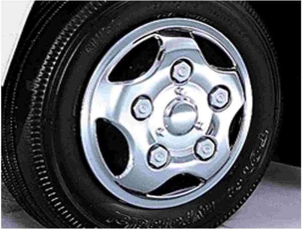 『ダイナワイドキャブ』 純正 XZU404 メッキフルホイールキャップ パーツ トヨタ純正部品 ホイールカバー dyna オプション アクセサリー 用品