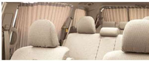『エスティマ』 純正 ACR50 室内カーテン(一重) フォーマルプリーツ パーツ トヨタ純正部品 目隠し 日除け スモーク estima オプション アクセサリー 用品