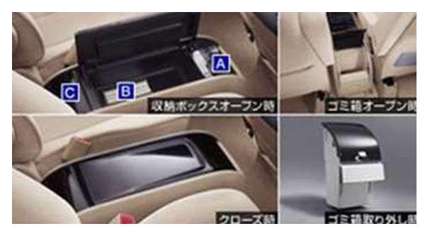 『エスティマ』 純正 ACR50 コンソールボックス パーツ トヨタ純正部品 estima オプション アクセサリー 用品