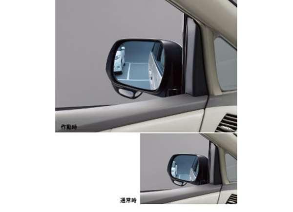 『エスティマ』 純正 ACR50 リバース連動ミラー ※ミラー本体ではありません パーツ トヨタ純正部品 バック 自動 安全確認 estima オプション アクセサリー 用品