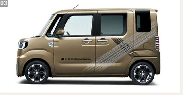 『ウェイク』 純正 LA700S LA710S サイドストライプ タイヤトラックス パーツ ダイハツ純正部品 メッキ オプション アクセサリー 用品
