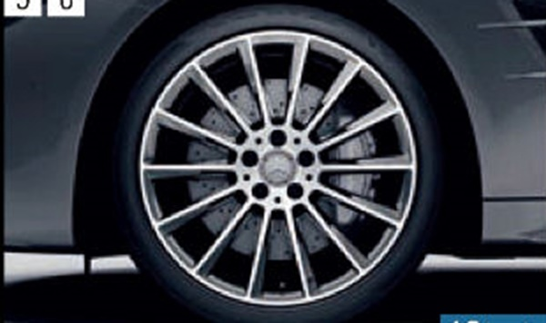 『SL』 純正 DBA CBA AMG 19インチアルミホイール パーツ ベンツ純正部品 安心の純正品 オプション アクセサリー 用品