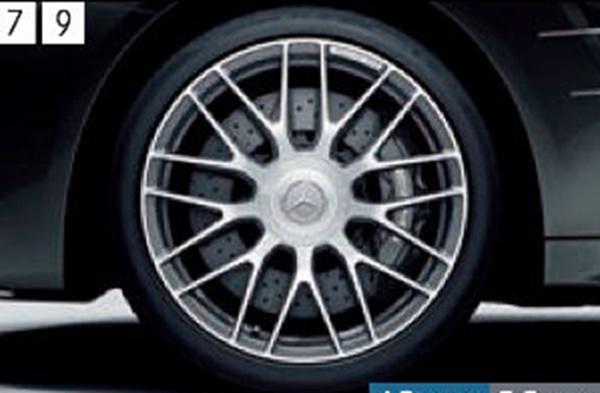 『SL』 純正 DBA CBA AMG 19インチアルミホイール(鍛造) パーツ ベンツ純正部品 安心の純正品 オプション アクセサリー 用品