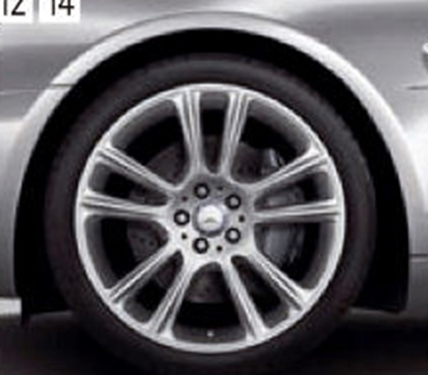 『SL』 純正 DBA CBA 19インチアルミホイール パーツ ベンツ純正部品 安心の純正品 オプション アクセサリー 用品