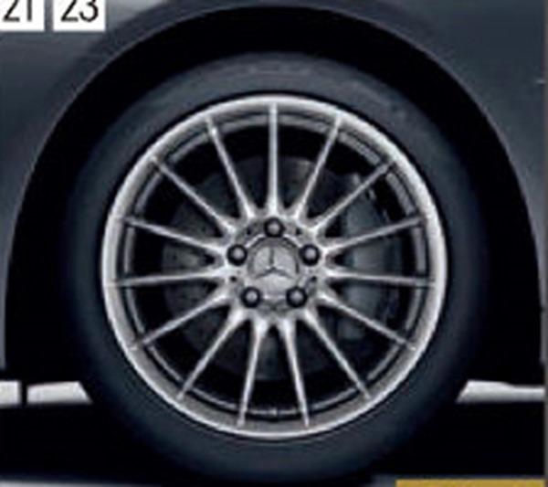 『SL』 純正 DBA CBA 18インチアルミホイール パーツ ベンツ純正部品 安心の純正品 オプション アクセサリー 用品