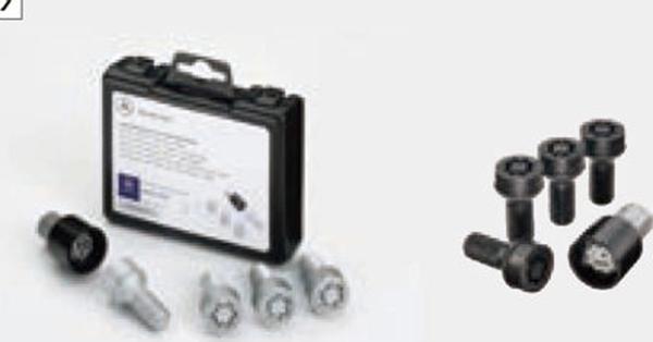 『SL』 純正 DBA CBA アルミホイール用ロック パーツ ベンツ純正部品 安心の純正品 オプション アクセサリー 用品