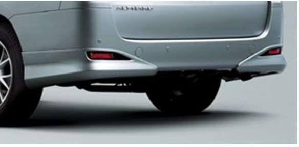 『アルファード』 純正 ANH20 リヤバンパースポイラー パーツ トヨタ純正部品 alphard オプション アクセサリー 用品