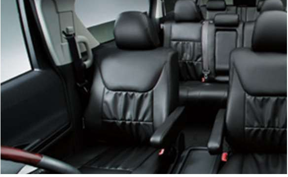 arufado皮革风格座套沙发型(黑色)丰田正牌的零部件arufadopatsu[anh20 anh25 ggh20 ggh25]零件纯正丰田丰田纯正toyota零部件选项座套覆盖物
