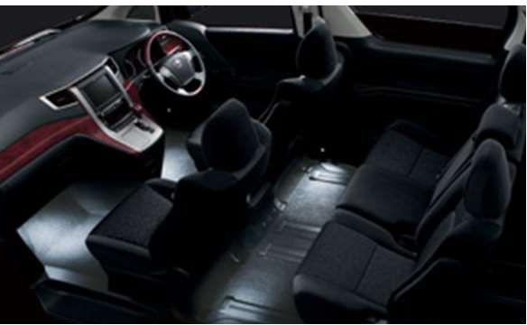 『アルファード』 純正 ANH20 インテリアイルミネーション 2モードタイプ パーツ トヨタ純正部品 照明 明かり ライト alphard オプション アクセサリー 用品
