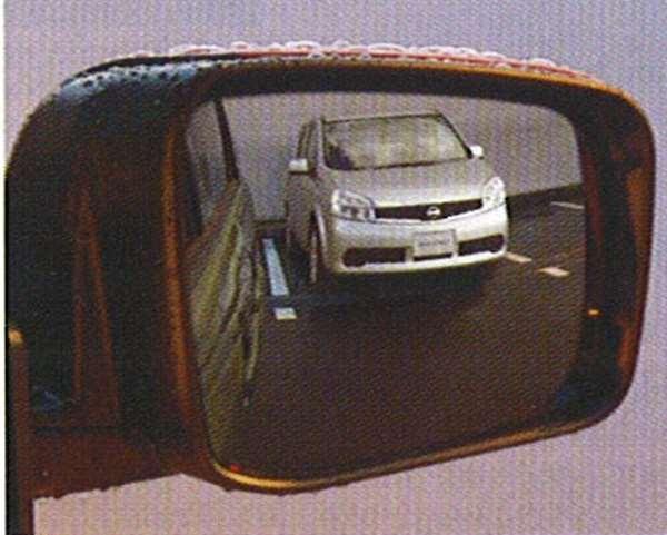 『ラフェスタ』 純正 B30 NB30 チタンクリアドアミラー(ヒーター付ドアミラー車用) パーツ 日産純正部品 水滴 視界 雨 LAFESTA オプション アクセサリー 用品