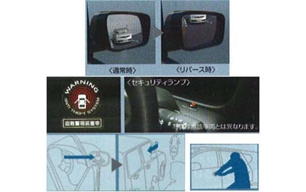 『ラフェスタ』 純正 B30 NB30 パーキングサポートシステム(ベーシックカーアラームタイプ) パーツ 日産純正部品 LAFESTA オプション アクセサリー 用品