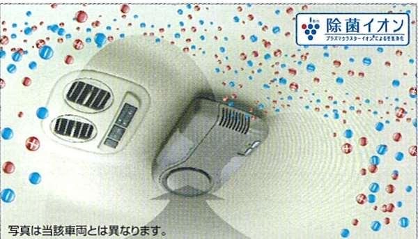 『ティーダラティオ』 純正 PJ32 J32 TNJ32 プラズマクラスターイオンピュアトロン(天井取付型除菌機能付) パーツ 日産純正部品 臭い ウィルス アレルギー TIIDA オプション アクセサリー 用品