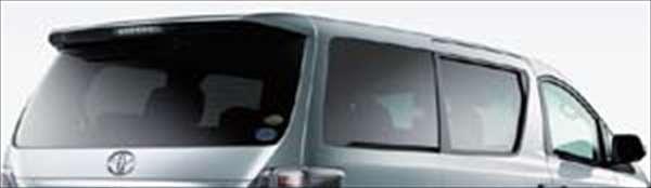 『ヴェルファイア』 純正 ANH20 IR(赤外線)カットフィルムリヤサイド・バックガラス(スモーク) パーツ トヨタ純正部品 日除け カーフィルム vellfire オプション アクセサリー 用品