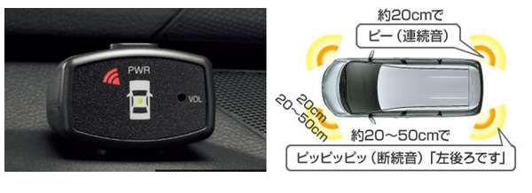 『エスティマ』 純正 AHR20 ACR50 ACR55 コーナーセンサー/ボイス4センサー(インジケータ)のみ※センサーキットは別売 パーツ トヨタ純正部品 危険察知 接触防止 セキュリティー estima オプション アクセサリー 用品