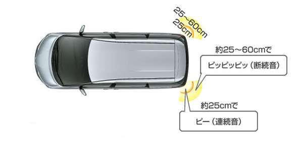 『エスティマ』 純正 AHR20 ACR50 ACR55 コーナーセンサー/リヤ左右のブザーキットのみ※センサーキットは別売り パーツ トヨタ純正部品 危険察知 接触防止 セキュリティー estima オプション アクセサリー 用品