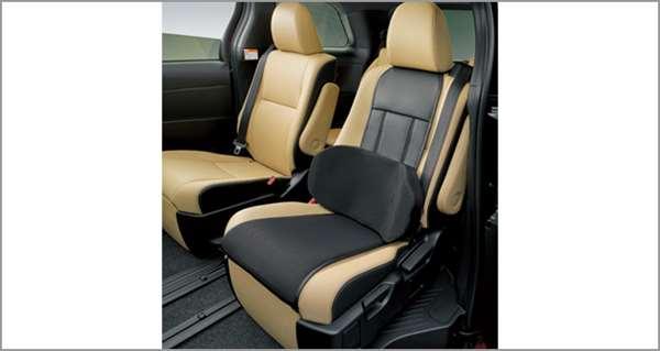 『エスティマ』 純正 AHR20 ACR50 ACR55 サイドサポートパッド(シートエプロンタイプ) パーツ トヨタ純正部品 汚れから保護 セミシートカバー estima オプション アクセサリー 用品